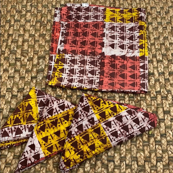 Hobby Lobby Other - Aztec Print Cloth Napkins